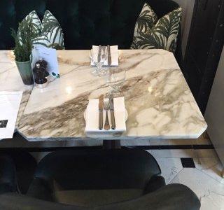 Calacatta Green table